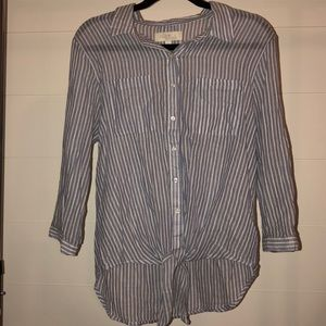 Olive & Oak Striped Shirt